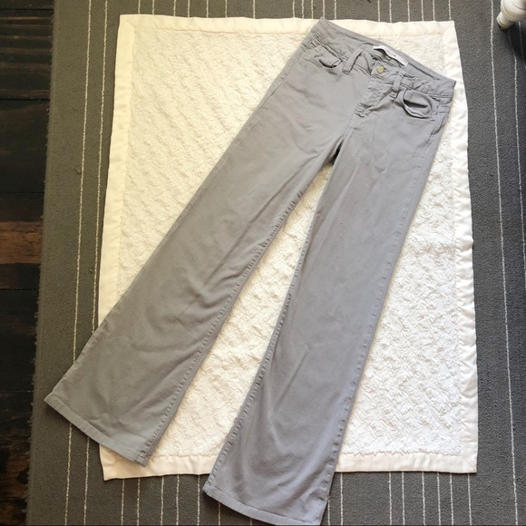 Joe's Jeans Denim - Joe's Jeans High Rise Wide Leg Flare in Sterling